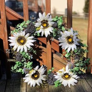 Handcrafted Floral Wreath